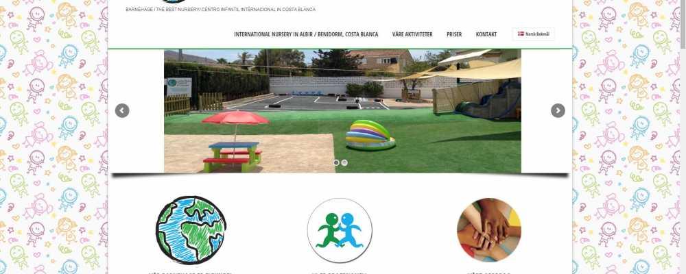 Página web en Albir – Little People